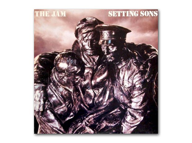 The Jam - Setting Sons album cover