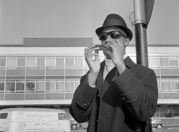 Stevie Wonder's first visit to the UK