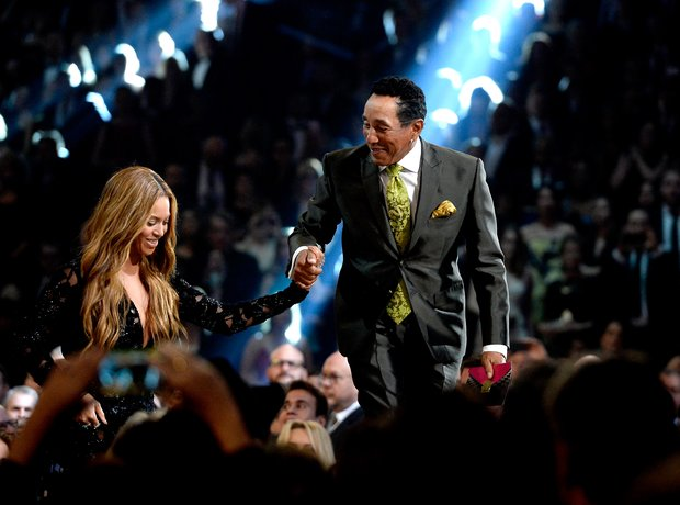 Beyonce and Smokey Robinson