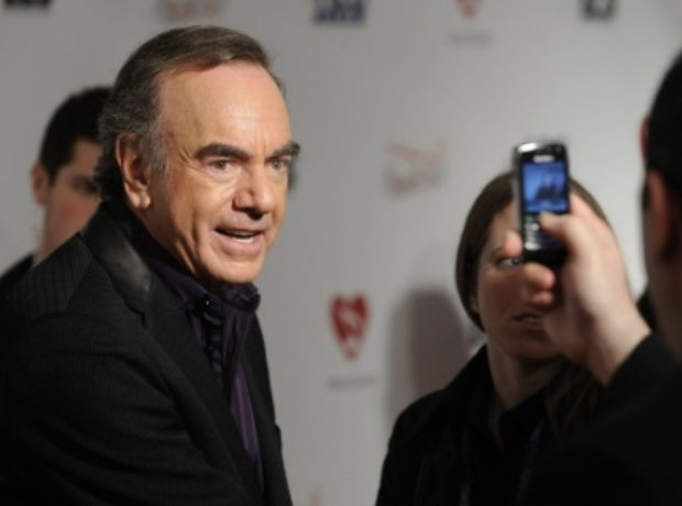 Neil Diamond poses for a photograph, 2009
