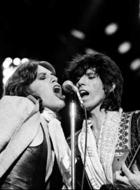 Jagger and Richards, 1975