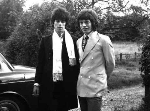 Keith Richard and Mick Jagger