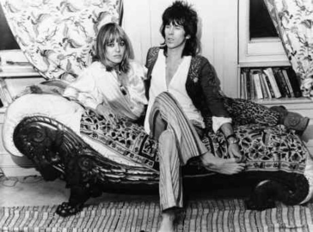 Keith Richards and Anita Pallenberg