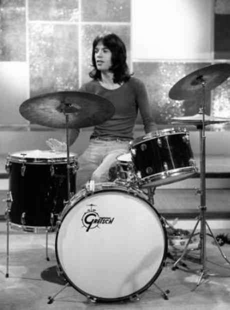 Mick Jagger, Drummer!