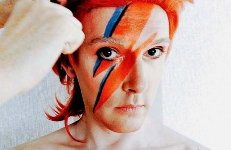 Professor Will Brooker as David Bowie