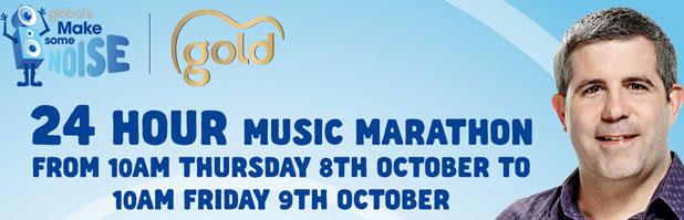 gold, music marathon