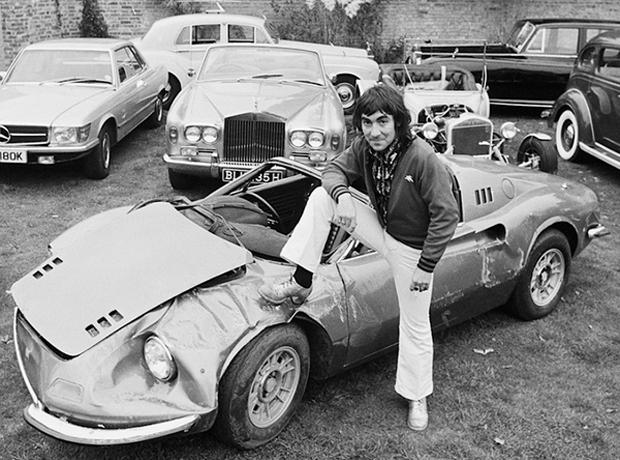 Rock Stars Cars Keith Moon