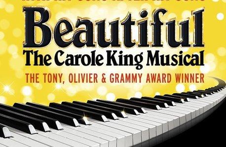 Beautiful Carole King musical poster