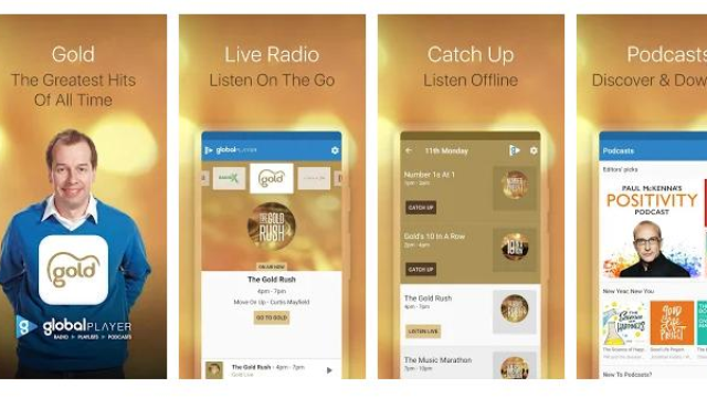 Listen to Gold on mobile and smart speakers - Gold